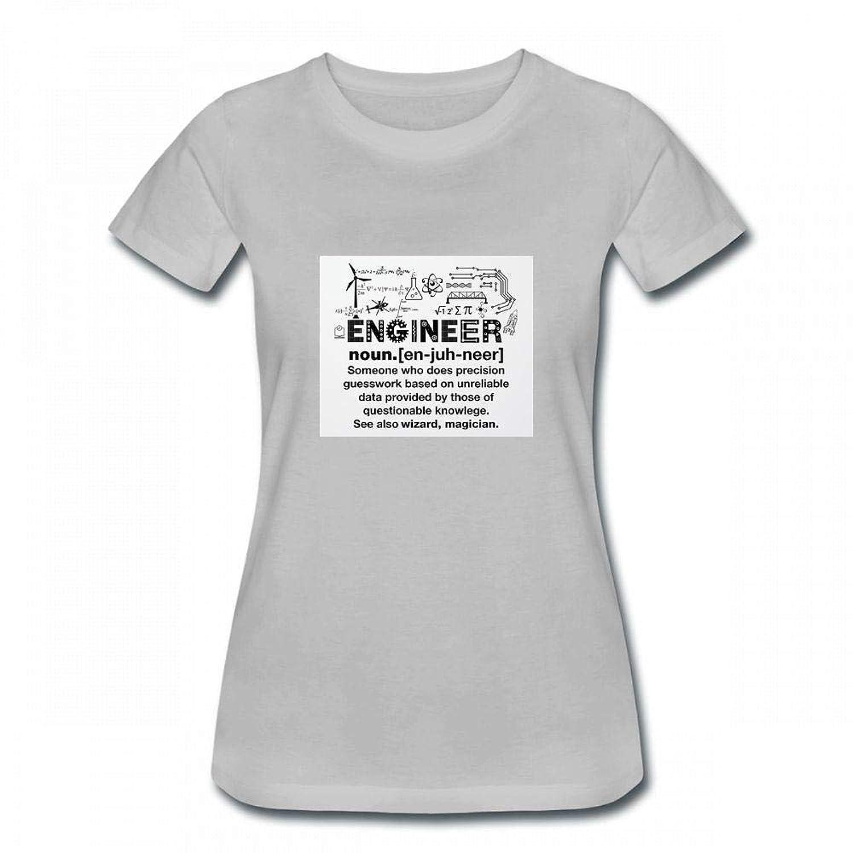 トップス エンジニアの面白い定義 Women T-Shirt レディーズ Tシャツ