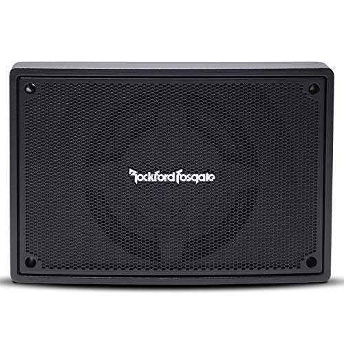 """Rockford Fosgate PS-8 Punch Single 8"""" Amplified Loaded Enclosure Subwoofer"""