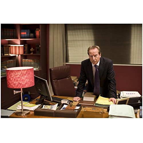 Law & Order UK George Castle leaning forward on desk 8 x 10 Inch Photo
