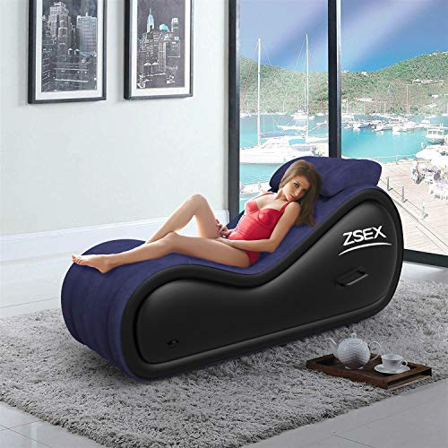 Portable Inflatable Sofa for Deeper Position with Electric Air Pump Inflatable S
