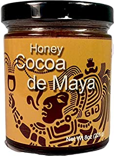 Zen Bear | Honey Cocoa de Maya | Premium Clover Honey Sweetened Organic Chocolate Cocoa with a Spicy Kick | Perfect For Ho...