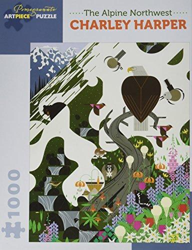 Charley Harper: The Alpine Northwest 1,000-Piece Jigsaw Puzzle