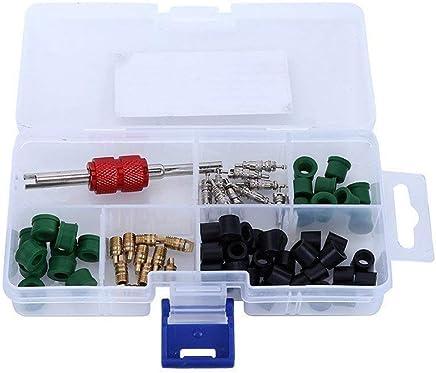 Auto herramienta de A/C Aire Acondicionado Válvula Core Remover instalador Surtido Kit (10pcs