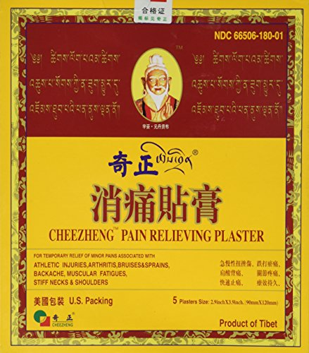 Cheezheng Plaster Cheezheng Pain Relieving Plaster 5 patch