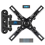Mounting Dream TV Mount with Articulating Arm for 17-39 Inch TVs, Full Motion TV Wall Mount up to VESA 200x200mm and 33 lbs, Easy Installation and Fits Single Wood Stud
