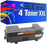 Tito-Express Platinum Series 4 Cartucce Toner XXL compatibile con Kyocera TK-3170 Ecosys P3060dn P3055dn P3050dn P3060 P3055 P3050 DN | Black 15.500 pagine