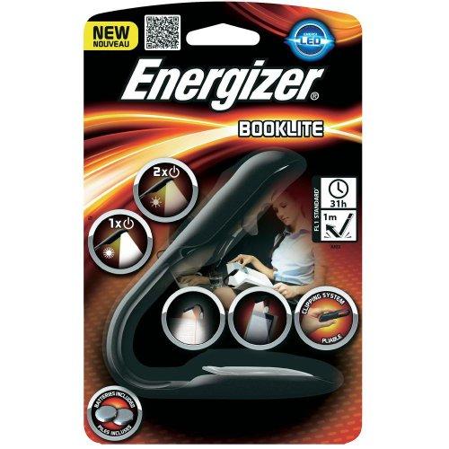 Energizer Reader Lampe Pince Lite Lampe de Lecture/Lampe/Style pour Livres, E-Book Reader avec 6 x Panasonic CR2032 Piles de Rechange