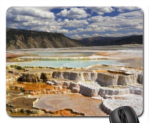 zout een mineralen flats Mouse Pad, Mousepad (Krachten van de natuur Mouse Pad)