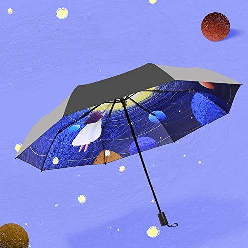 Paraguas Estrellas  marca Qeeuanl