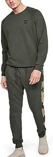 Under Armour Erkek Spor Pantolon RIVAL FLEECE PRINTED JOGGER-GRN, Yeşil, W86 (Üretici ölçüsü: L)