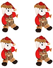 💕💕 Christmas Ornaments Gift Santa Claus Snowman Reindeer Toy Doll Hang Decorations