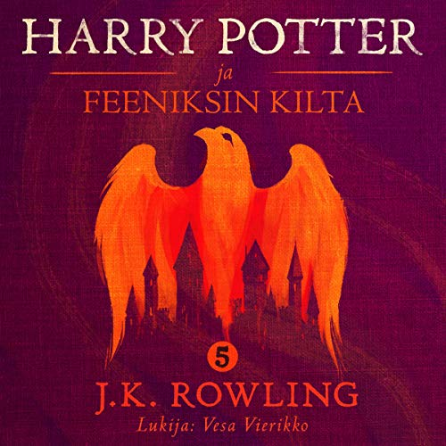 Harry Potter ja Feeniksin kilta cover art