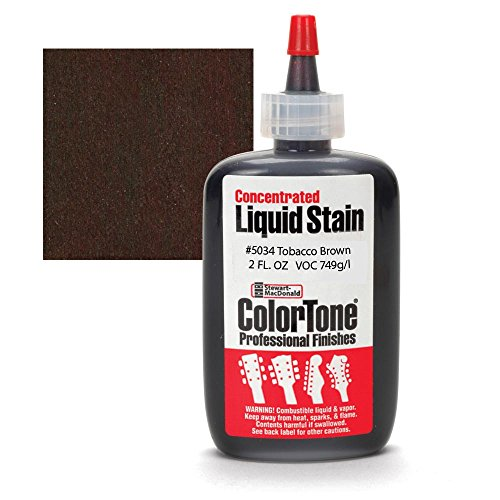 ColorTone Liquid Stain for Stringed Instruments, Tobacco Brown