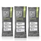 LMNT Recharge Electrolyte Hydration Powder | Formulated by Robb Wolf and Ketogains | Keto & Paleo | No Sugar, No...