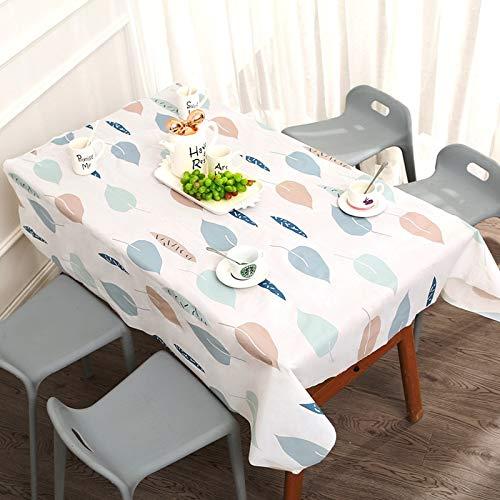 XXDD Mantel Decorativo Rectangular de Cocina Impermeable a Prueba de Aceite patrón de Dibujos Animados Impreso Mantel de Comedor A1 135x135cm