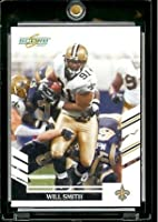 2007 Score # 92 Will Smith - New Orleans Saints - NFL Football Card
