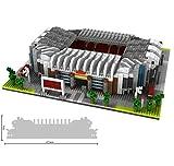 Ding Regalos Nano Mini Kits de Bloques de construcción for niños Construcción Educación de Bricolaje de Juguetes Famosa Fútbol de la Serie Mundial Campo 3800pcs