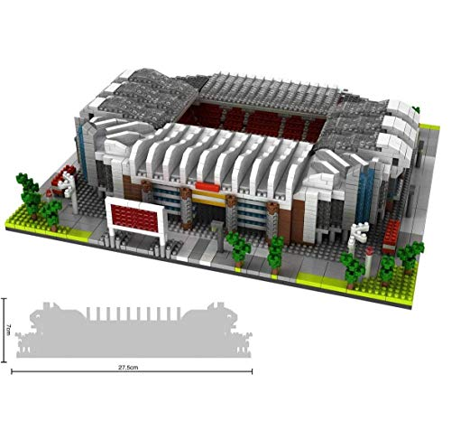 XinQing Regalos Nano Mini Kits de Bloques de construcción for niños Construcción Educación de Bricolaje de Juguetes Famosa Fútbol de la Serie Mundial Campo 3800pcs