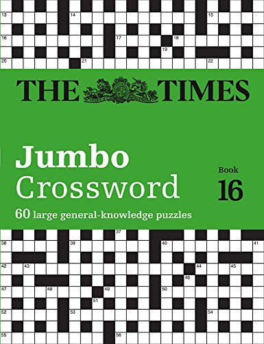 The Times 2 Jumbo Crossword Book 16: 60 large general-knowledge crossword puzzles