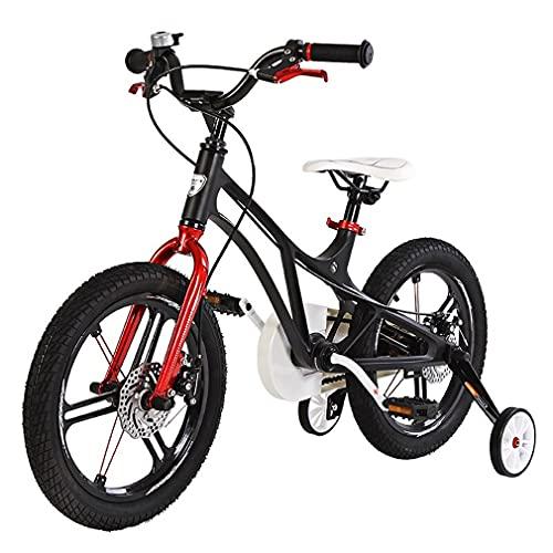 14/16/18 Pulgadas Bici Infantiles Bicicletas NiñOs,AleacióN De Magnesio/con Ruedas Auxiliares/Timbre De Coche Inteligente/Manillar Ajustable/Apto para NiñOs De 2 A 9 AñOs