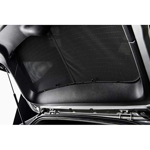 Carshades Set di Car Shades compatibile con Audi A4 B9 Avant 2015, Nero