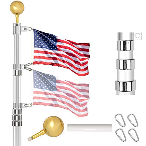 IIOPE Telescoping Flag Poles Kit