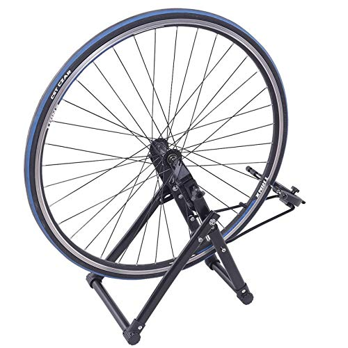 Jinshuyi-Store Wheel Truing Stand Simple Convenient Bike Truing Stand, Home DIY Bicycle Repair Maintenance Support Tool Accessory for 16 inches - 29 inches 700C Wheels