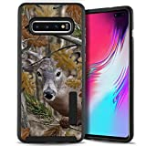 CasesonDeck Deer Case Compatible with [Samsung Galaxy S10e | S10 Lite 5.8' ][Tactical Grip] Hunters Series Dual Layer Rubberized Shell Bump and Drop TPU Interior (Deer Tree Camo)