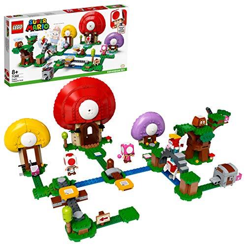 LEGO Super Mario Set de Expansión: Caza del Tesoro de Toad, Juguete de Construcción (71368)