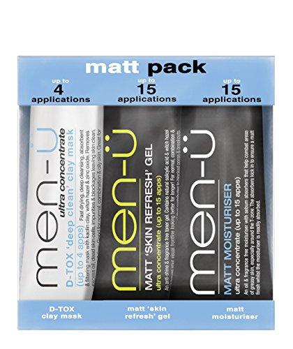 Beaucoup Shop Men-ü Bundle de rasage ultime/du visage Mat Lot Skin Refresher Définit Crème laver et cadeau gratuit Lotmart promotionnel Pen avec chaque colis