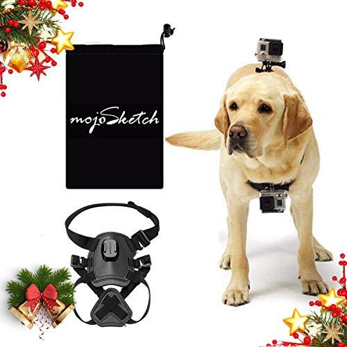 Mojosketch Dog Harness Mount Chest GoPro