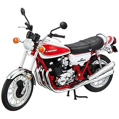 スカイネット 1/12 完成品バイク カワサキ 750RS (Z2) 赤白カラー