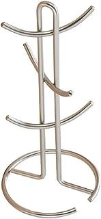 6カップマグツリーホルダー カップドレイナー メタルマグ乾燥ラック ティーカップオーガナイザーハンガー 39 17 17cm