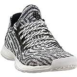 adidas Harden Vol. 1 LS Primeknit Shoe Juniors Basketball 4.5 White-Core Black-Grey