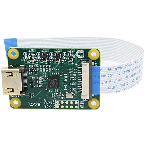 Fauge para MóDulo de Entrada HDMI - Compatible con Raspberry Pi - Entrada una CSI-2 - Admite hasta 1080P25 Fps con Cable FFC