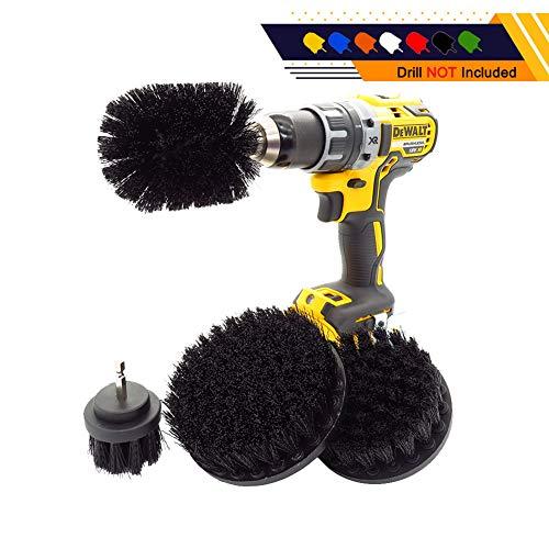 4 Delige Drill Opzetborstels Set/Multifunctioneel Wassen En Schoonmaken Kit Geschikt Voor Badkuip Tile Sink Wheels