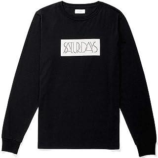 [サタデーズサーフ ニューヨーク] ロンT 長袖Tシャツ Saturdays Deco L/S Tee 6595020 [並行輸入品]