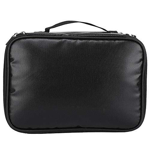 Fdit Fireproof Document Bags, twee lagen brandwerende tas en waterdichte opslag, waterdichte en vuurvaste tas voor documenten, iPad, geld, sieraden en geld