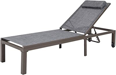 Amazon.com: Moderna silla plegable con diseño orbital ligero ...