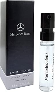 Mercedes-Benz for Men - Eau De Toilette - Natural Spray for Men - Amber and Dry Wood Scent - Signature Mix of Spices and W...