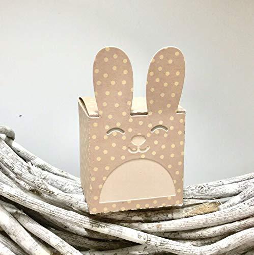 Stanzschablone/Cutting Dies Geschenk Box Schachtel Kiste Hase Ostern Hasi