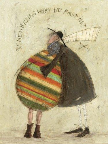 Sam Toft Leinwanddruck, Mehrfarbig, 60 x 80 cm