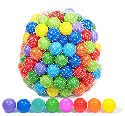 Playz 500 Soft Plastic Mini Play Balls