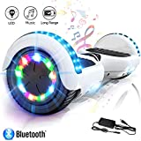 COLORWAY Hoverboard Elettrico App Scooter a 8 Pollici con Bluetooth & LED Auto Balance...