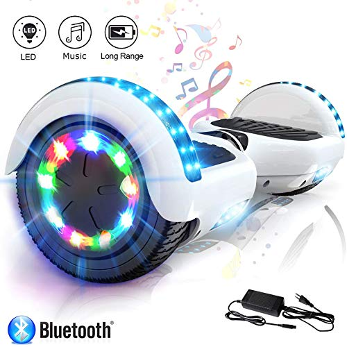 COLORWAY 6,5 Inch Hover Scooter Board Balance Board Smart Scooter Self Balance Board - Bluetooth - LED-lampen - EU-veiligheidsnorm