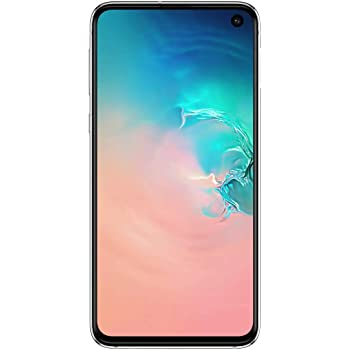 "Samsung Galaxy S10e 128GB+6GB RAM SM-G970 Dual Sim 5.8"" LTE Factory Unlocked Smartphone (International Model, No Warranty) (Prism White)"