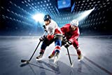 Eishockey Eis Stadion XXL Wandbild Kunstdruck Foto Poster