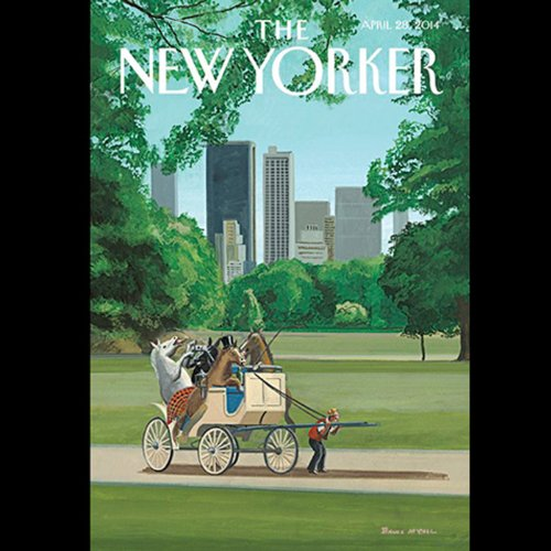 The New Yorker, April 28th 2014 (Margaret Talbot, Adam Gopnik, Peter Schjeldahl) cover art