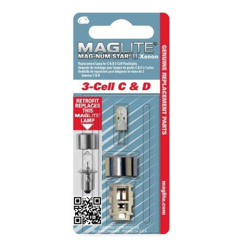 Mag-Lite LMSA301 Xenon Ersatzleuchtmittel für 3C-/ D-Cell Stablampen