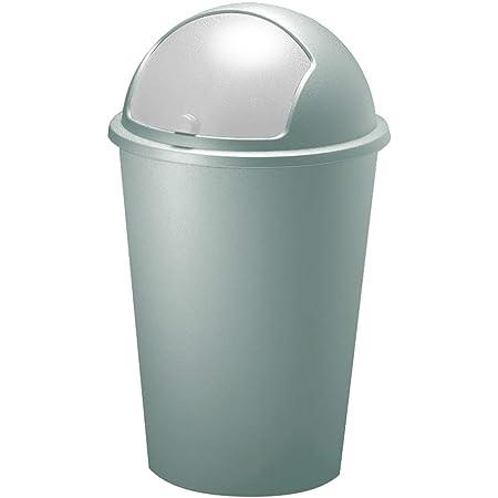Poubelle 50 litres Menthe - Couvercle basculant - 68cm x 40cm Maison déchets